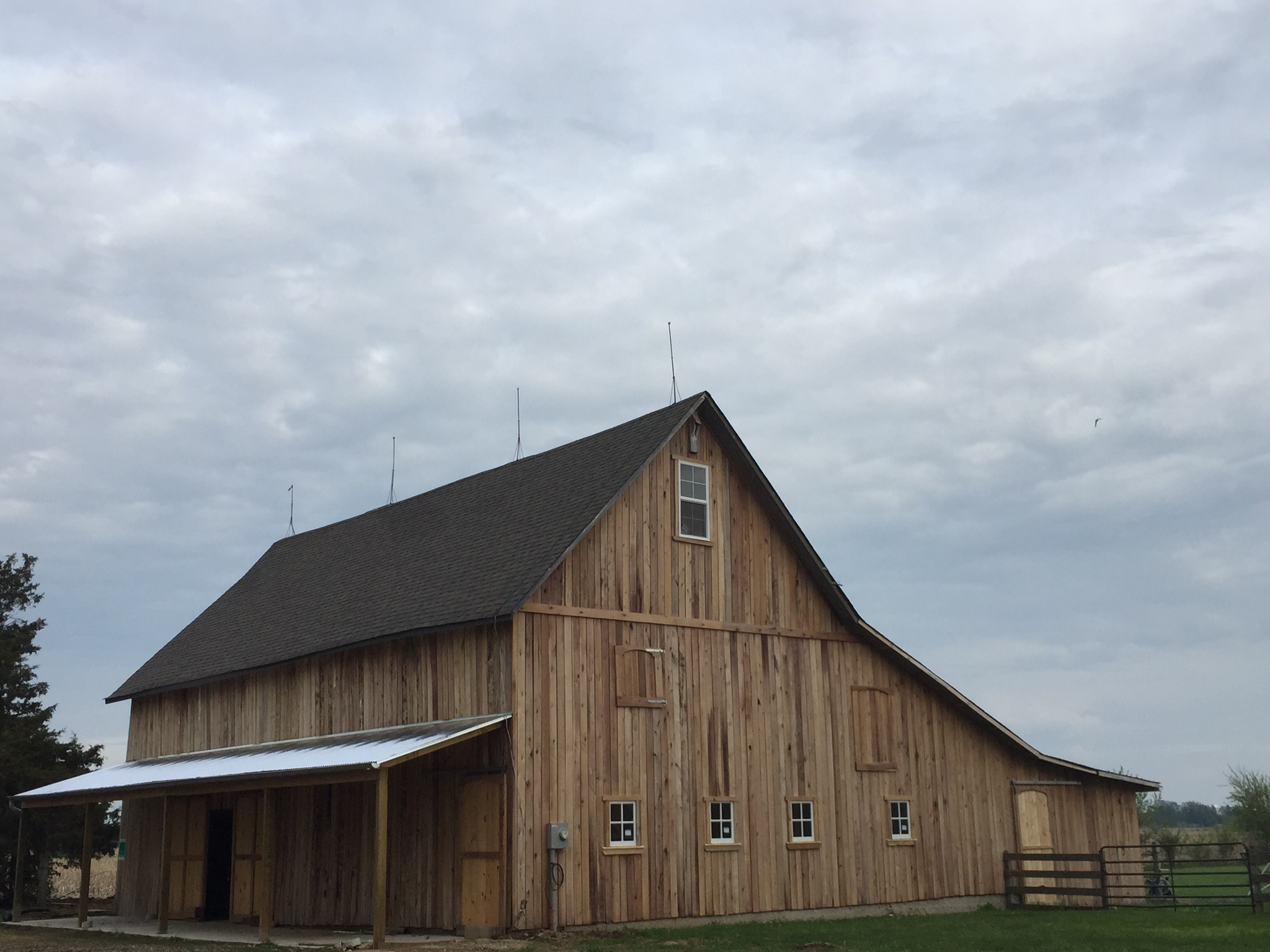 Barn At Zyntango Farm Indiana Rustic Wedding Venues