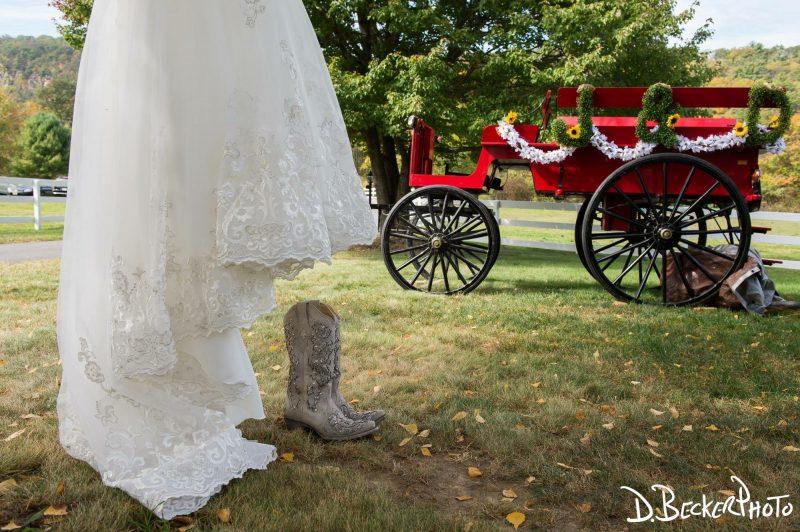 Rustic Wedding Cowboy Boots