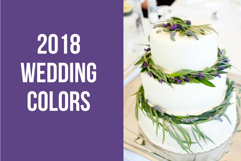 2018 Brides, You\'re Going to Be Seeing Ultra Violet Everywhere ...