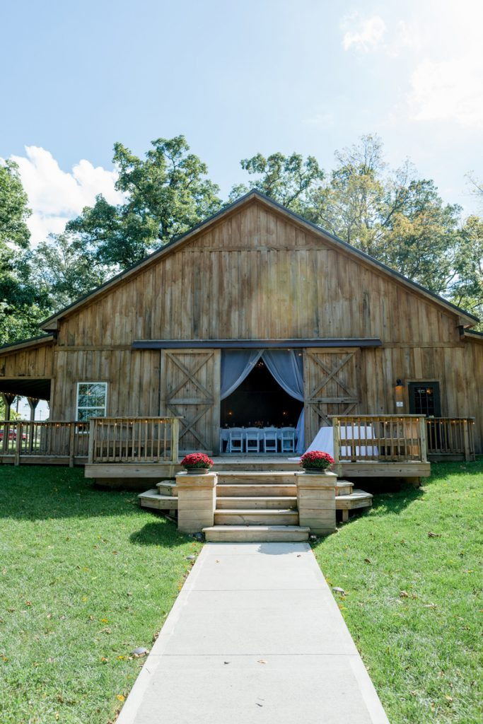 Barn Wedding Venue in Indiana