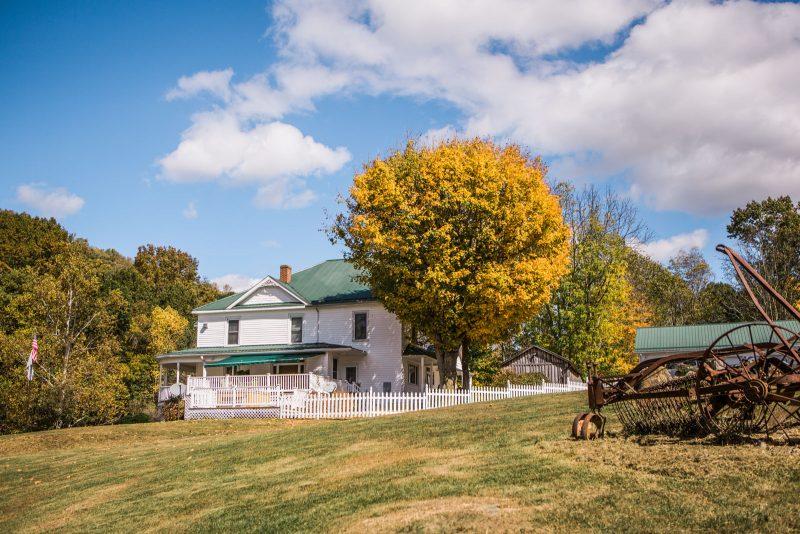 Rustic Wedding Venue in West Virginia